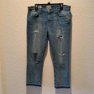 "NWT Current/ Elliott ""The Cropped Straight"", 32"